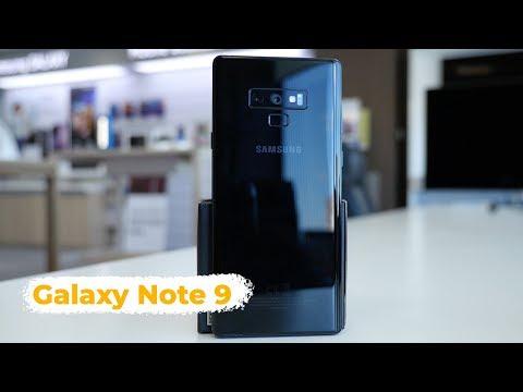 Быстрый обзор Galaxy Note 9