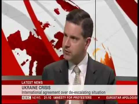 17th April: Dr. Alan Mendoza on BBC News commenting on the recent Ukraine truce agreement