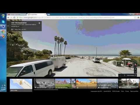 Google Map with Street View, Traffic & Root options
