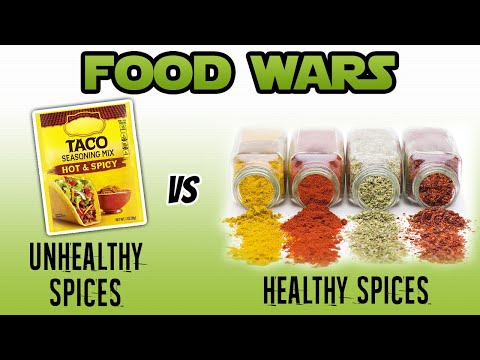 Food Wars: Healthy Spices vs Unhealthy Spices - Live Lean TV