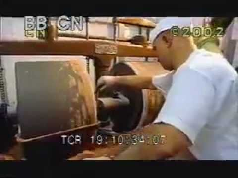 Chocolate Factory 16mm 4 - Making Chocolate - Best Shot Footage - Stock Footage