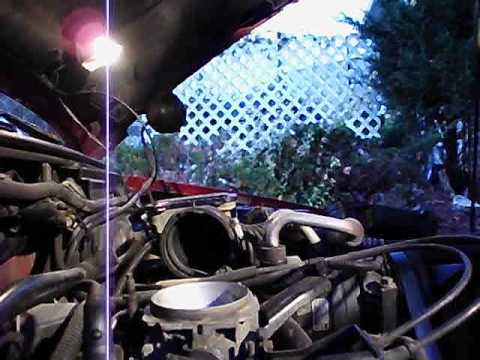 1997 Chevy Blazer 4.3L Vortec Throttle Body cleaning part 1 of 3