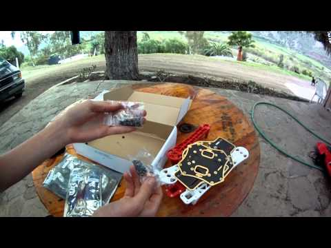 DJI Flame Wheel F450 Quadcopter Frame Unboxing