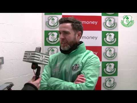 Post Match Interviews v Finn Harps 04-03-2019