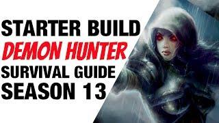 Diablo 3 Demon Hunter Starter Build Season 13 Shadow Guide