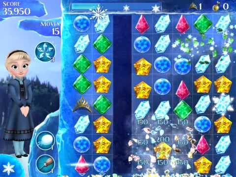 Disney Frozen Free Fall Level 29 (3 Stars)