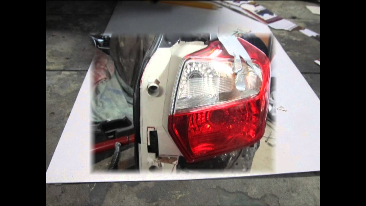 Ремонт задних фонарей автомобиля 111