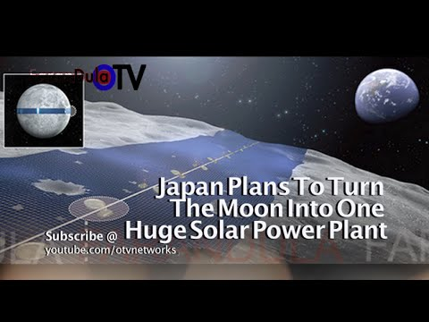 Japan Plans To Turn The Moon Into One Huge Solar Power Plant