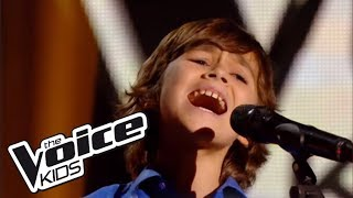 Historia de un amor - Carlos Eleta Almaran | Esteban | The Voice Kids 2014 | Blind Audition