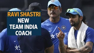 Ravi Shastri is the new team India coach