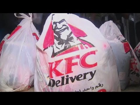 KFC smugglers: Kentucky Fried Chicken bargain buckets smuggled through tunnels into Gaza