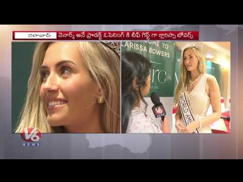 Miss World America 2017 Clarissa Bowers Face To Face Interview | Hyderabad | V6 News