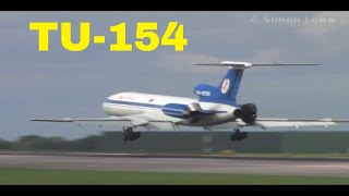 Belavia TU-154M @ Manchester Airport. Watch the Landing!!