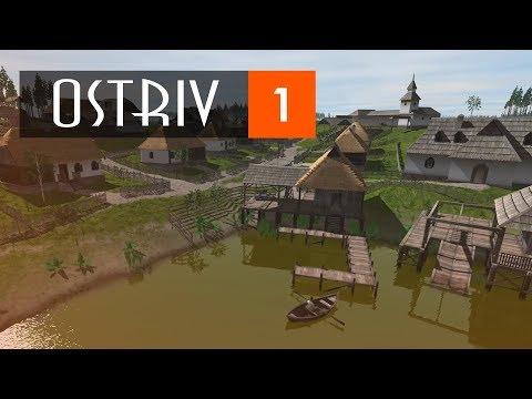 Наверное самый проработанный градостроительный симулятор   ОSTRIV #1