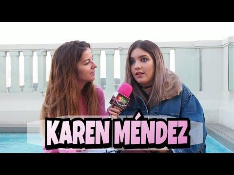 KAREN MÉNDEZ - Tu enemiga (Entrevista)
