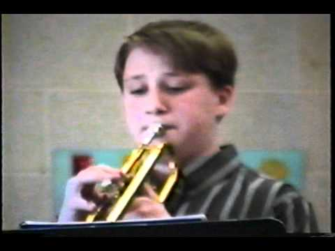Denby High at Solo and Ensemble, Jason Wilber Soloist 1995.wmv