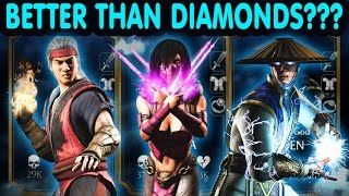 FOUND AMAZING TEAM BY ACCIDENT! Mortal Kombat X Mobile. First Challenge Characters Tribute.