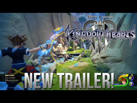 KINGDOM HEARTS 3 - Jump Festa 2016 Official Trailer