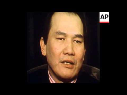 SYND 17 5 75 THAI AMBASSADOR TO WASHINGTON SPEAKS ABOUT MAYAGUEZ INCIDENT