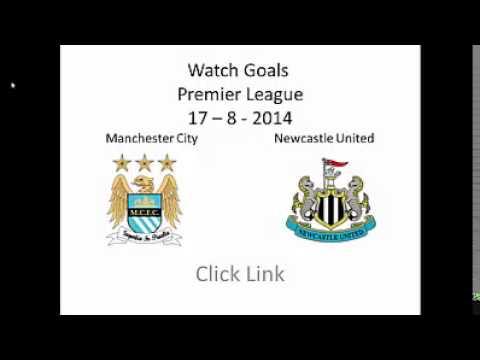 Manchester City vs Newcastle United 2-0 ( 17-8-2014 ) Premier League