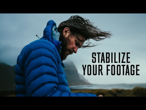 How To STABILIZE SHAKY FOOTAGE (NOT With Warp Stabilizer)
