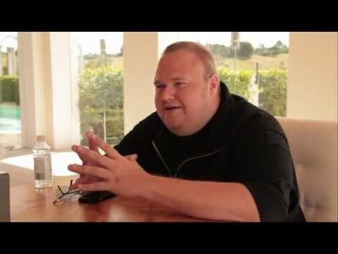 Kim Dotcom on Mega, Hollywood, Internet &amp; Copyright Enforcement