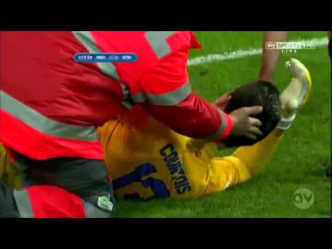 Real Madrid vs. Atlético Madrid (Red card Cristiano Ronaldo) (Copa del Rey 05.17.2013) HD 720p