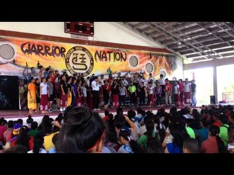 Tafuna High School Swing choir. 2-14-14