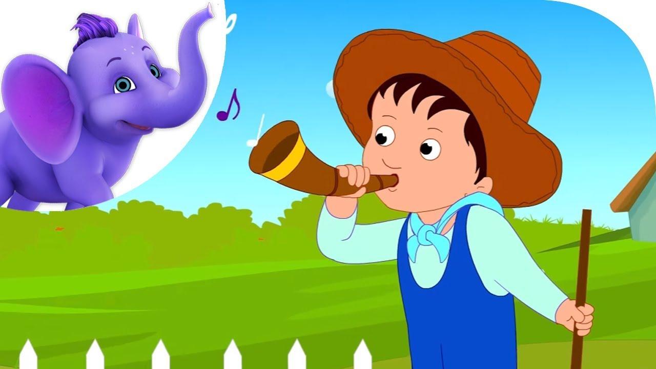 Little boy blue nursery rhyme with karaoke youtube