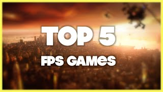 TOP 5 - FPS Games 2015 (iPhone, iPod, iPad)