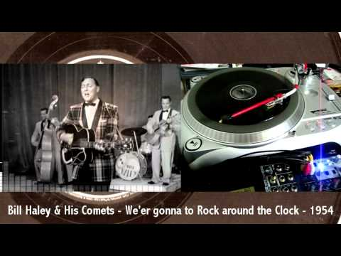Bill Haley&His Comets - We're gonna Rock around the Clock - 1954