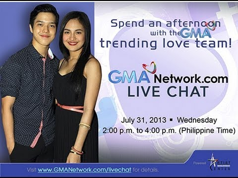 Julie Anne San Jose and Elmo Magalona Live Chat -- July 31, 2013