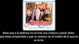 Watch Aventura No Lo Perdona Dios video