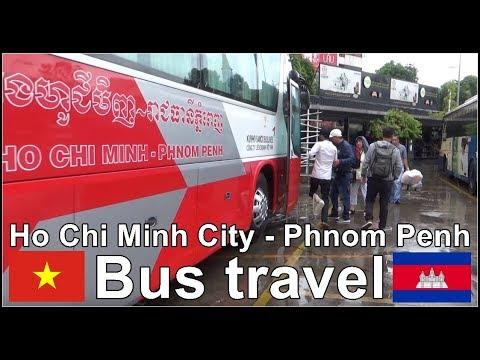 From Ho Chi Minh City, Vietnam to Phnom Penh, Cambodia by Bus :))
