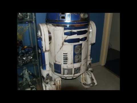 How To Make a R2D2 Full Size Scratch Built