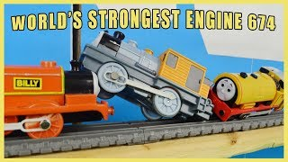 World's Strongest Engine TAG TEAM 674: Thomas and Friends Toy Trains