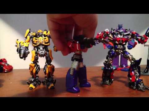 Revoltech sci-fi series no.38 transformers dark of the moon bumblebee