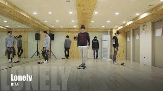 B1A4 - Lonely (???) ?? ?? (Lonely Dance Practice Video)