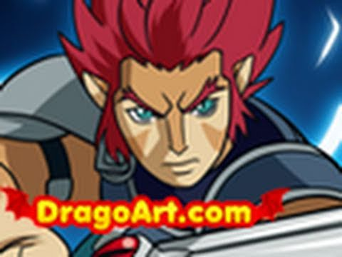 Thundercats Character on How To Draw Thundercats Characters   Video