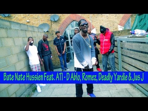 Bate Nate Hussien Feat. ATI - D Ablo, Romez, Deadly Yardie & Jus J - Outlaw Looking At You @MisjifTV