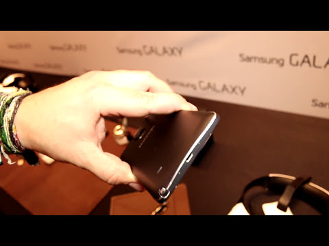 Samsung Galaxy Note 4 Hands On at IFA 2014