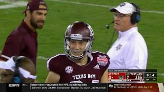 2018.12.31 TaxSlayer Gatorl Bowl: NC State Wolfpack vs #19 Texas A&M Aggies Football