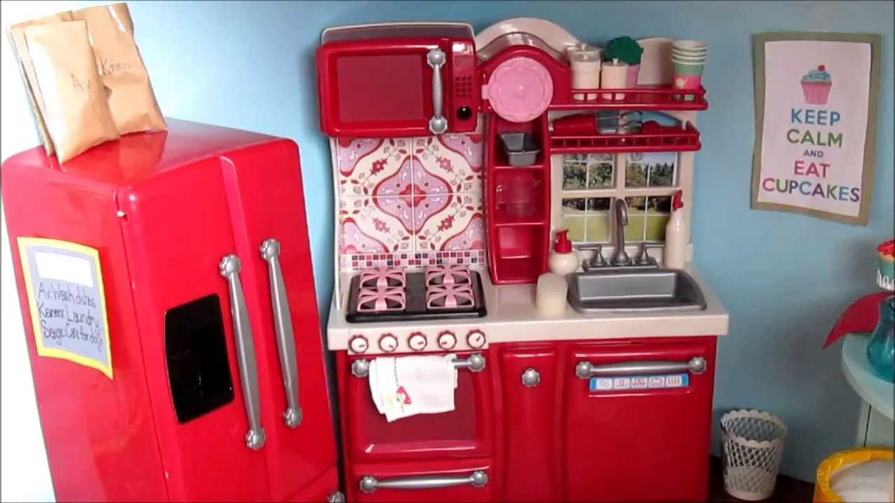 Our Generation Kitchen Set Review - YouTube