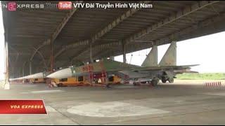 Máy bay chiến đấu Việt Nam gặp nạn trên biển