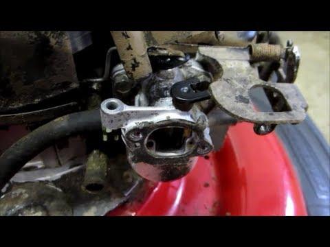 """Sears Craftsman 21"""" Lawn Mower Carburetor Cleaning"""