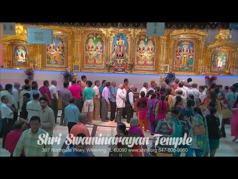 Saturday Sunderkand Path by PP Ashwin Pathak at Shree Swaminarayan Mandir Wheeling 06-03-2017
