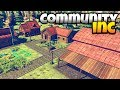 Community Inc - Base Building and Tree Chopping! - Community Inc Alpha Gameplay