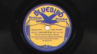 I've Got Something In My Eye by Amanda Randolph and her Orchestra, 1936