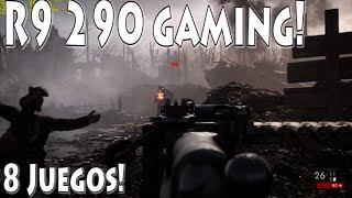 8 Juegos en Radeon R9 290 - Gaming!