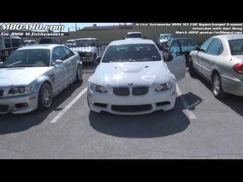 1080p: Gustav tests the Active Autowerke BMW M3 E90 + interview with Karl